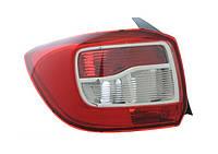 Стоп / фонарь задний левый QSP Dacia / Renault Logan 2 седан, фото 1