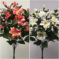 Азалия с бутонами, 3 расцветки, 12 голов, 45 см., 155/135 (цена за 1 шт. + 20 гр.)