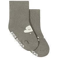 Детские антискользящие носки с начесом Дождь Berni