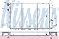Радиатор охлаждения двигателя Nissens 62213 на Ford Scorpio / Форд Скорпио