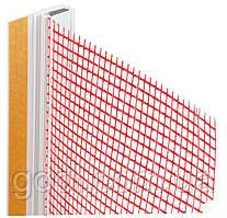 Приоконный профиль с армирующей сеткой длина 2,5 метра