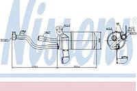 Осушитель Nissens 95449 на Ford C-MAX / Форд C-MAX