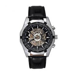 Водонепроницаемые мужские часы Winner TM340 Black (hub_np2_0021)