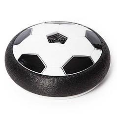 Аэрофутбольный мяч с подсветкой Hoverball Black
