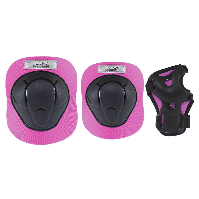 Комплект защитный Nils Extreme H210 Size M Black/Pink
