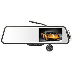 Видеорегистратор-зеркало Noisy DVR LS516 Full HD камерой заднего вида/Bluetooth-гарнитура (657110606)