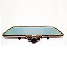 Видеорегистратор-зеркало Noisy DVR A66 360 c камерой заднего вида (668698177)