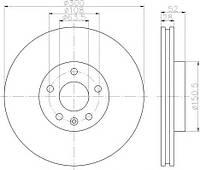 Тормозной диск Textar 92159203 на Ford S-MAX / Форд С-Макс