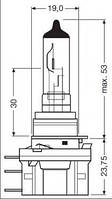 Лампа дальнего света Osram 64176 на Ford Kuga / Форд Куга