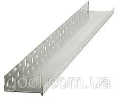 Профиль цокольный (стартовый) алюминиевый 103 мм. длина 2,0 м.п. (толщина алюминия 0,8 мм)