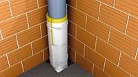 Звукоизоляция водосточной трубы мембраной Тексаунд FT 75 с войлоком, готовый комплект на 3.2мп ., фото 1
