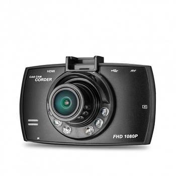 """Автомобільний відеореєстратор екран 3"""" G30 DVR Full HD 1 камера міні автореєстратор датчик руху"""