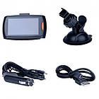 """Автомобильный видеорегистратор экран 3"""" G30 DVR Full HD 1 камера мини авторегистратор датчик движения, фото 2"""