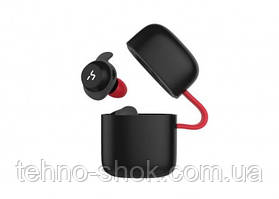 Наушники Bluetooth HAVIT G1, black/red,with mic and wireless charger