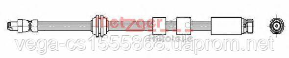 Тормозной шланг Metzger 4111995 на Ford Mondeo / Форд Мондео