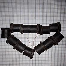 Втулки рессорные комплект 12шт Москвич 412 2140 прицеп 412-2912028 оригинал