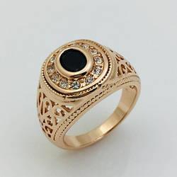 Мужской перстень Султан, размер 19, 20 ювелирная бижутерия