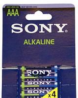 Батарейка SONY alkaline AAA LR03 4 BL (цена за упаковку)