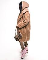 Экошуба Michelson, на утеплителе, увет Camel, размер S, фото 1