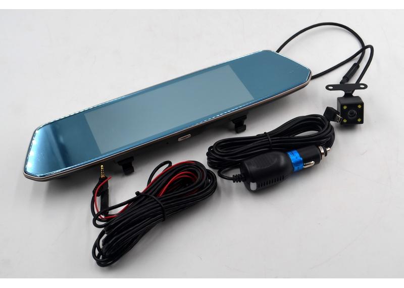 Дзеркало з камерою заднього виду L1007 відеореєстратор в машину дзеркало-реєстратор