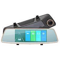 Зеркало заднего вида L1006 hd  5,0 дюймов 2 камеры качественный авторегистратор