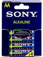 Батарейка SONY alkaline AA LR6 4 BL (цена за упаковку)