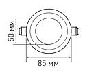 LED светильник MAXUS SDL 6W 530Lm 4100К, фото 2