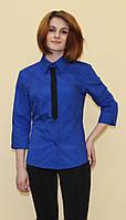 Синяя женская блуза, фото 1