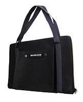 "Стильная сумка Michelson  для ноутбука и документов 18"", black, фото 1"