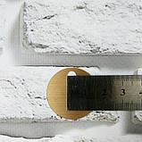 Круглые  пайетки с большим отверстием для вязания 20 мм. Упаковка 200 шт. Золотые, фото 2