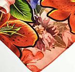 Палантин из вискозы 10695-5, павлопосадский палантин из вискозы, размер 65х200, фото 8