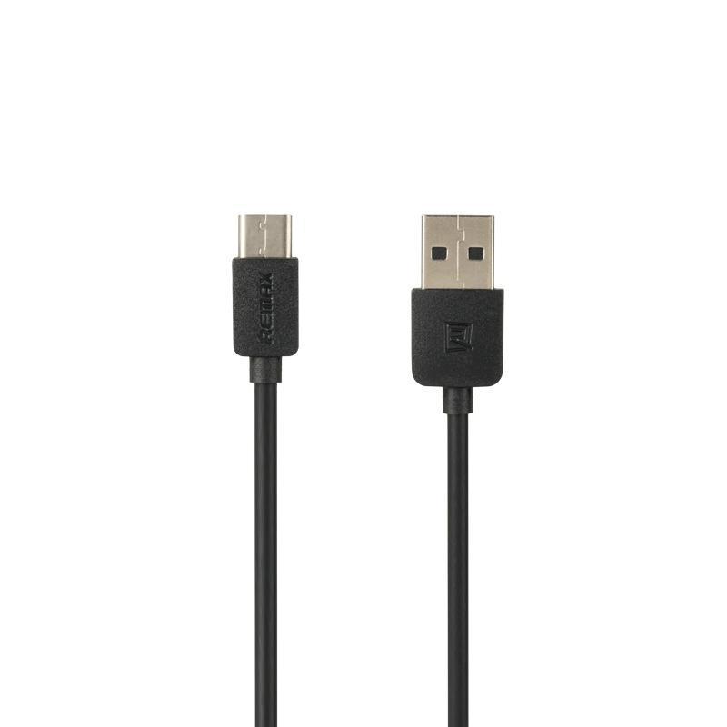 USB кабель Remax Light Speed RC-006a Type-C Black 1m (5-025)
