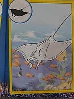 Колибри Раскраска Р-30: 126 наклеек/обитатели морей, фото 2