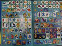Колибри Раскраска Р-30: 126 наклеек/обитатели морей, фото 3