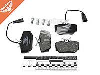 Колодки тормозные VW T-4 с90-03г.в. зад. (TRW / Lucas) (Delphi) (с датчиком)   LP1733  7D0698451C / 7D0698451G / 7D0698451J