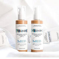 Осветляющая тональная основа с коллагеном Enough Collagen Whitening Moisture Foundation 3 in 1 SPF 15 №21