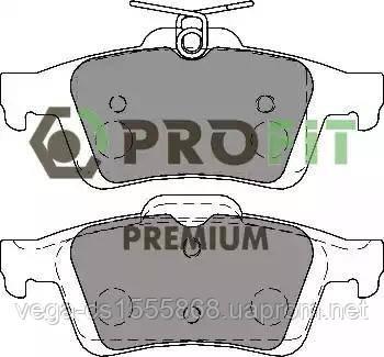 Гальмівні колодки Profit 50051931 на Ford Focus / Форд Фокус
