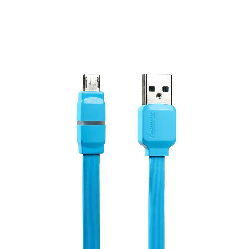 USB кабель Remax Breathe RC-29m microUSB Blue 1m