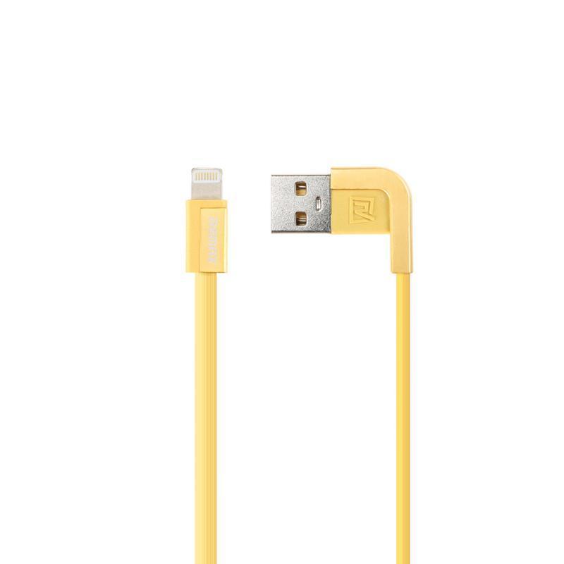 USB кабель Remax Cheynn RC-052i iPhone 6 Gold 1m