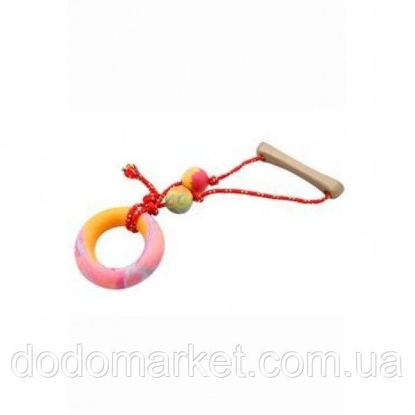 Кольцо с небольшой струной игрушка для собак Toy A3