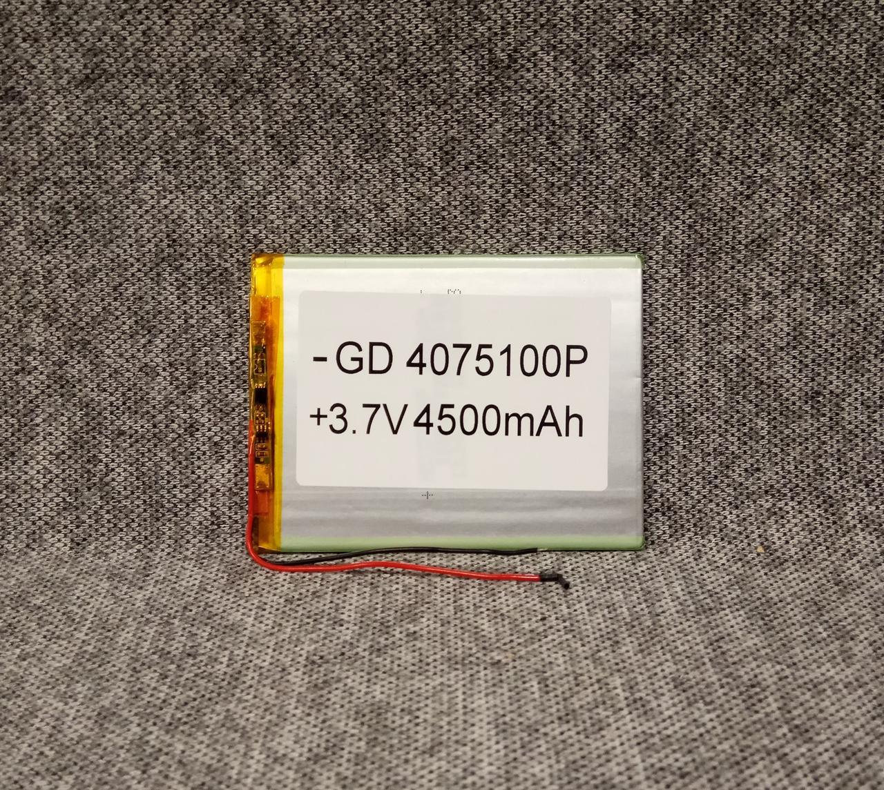 Литий полимерный аккумулятор 0475100 3.7V 4500mah