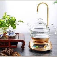 """Стеклянный электрический чайник с  сенсорным  подогревателем """"KAMJOVE"""", фото 1"""