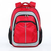 Рюкзак ортопедический школьный Dolly 521D красный