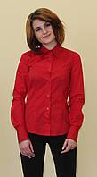 Красная женская блуза, фото 1