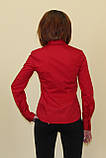 Красная женская блуза, фото 3