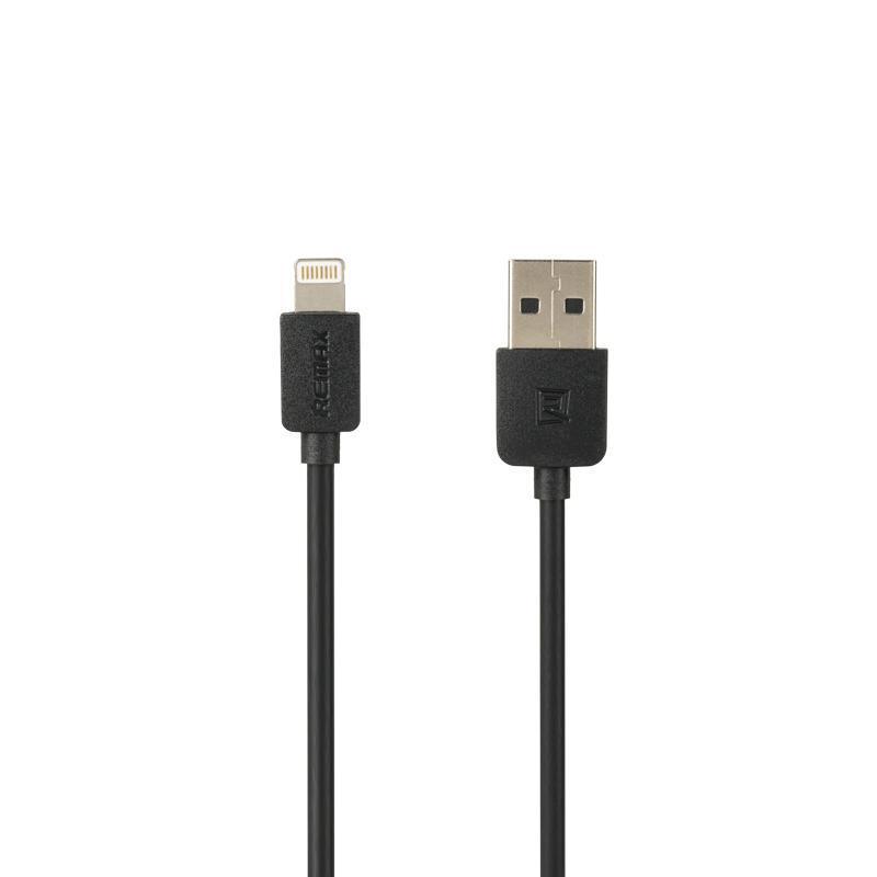 USB кабель Remax Light Speed RC-006i iPhone 5 Black 1m (5-025)