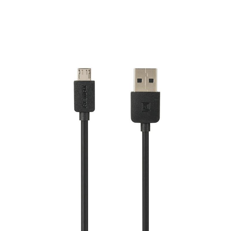 USB кабель Remax Light Speed RC-006m microUSB Black 1m (5-027)