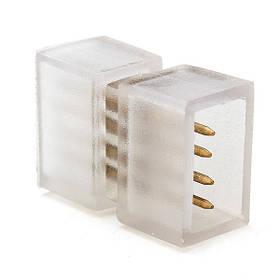 Соединитель для светодиодной ленты 2835/180 RGBWYP 220V SL16/3(коннектор двухсторонний) Код.59511
