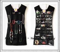 Органайзер для украшений.Маленькое черное платье. (ОПТОМ)