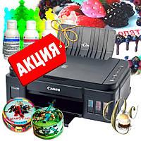 Пищевой кондитерский принтер Canon Cake Pro с СНПЧ НОВЫЙ